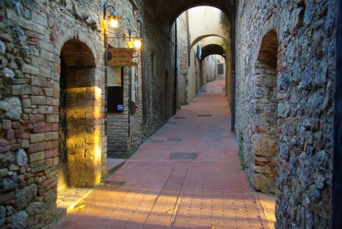 Abendstimmung in San Gimignano