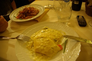 Rustikale Küche im Chiribiri, San Gimignano