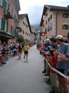 Bergün, mitten im härtesten Bergmarathon Europas. Da muss man durch!