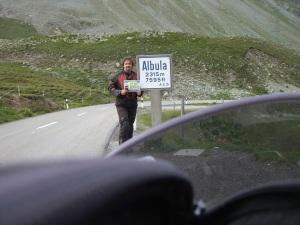 Albula Pass, 9:12 h