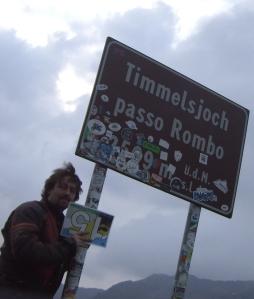 Timmelsjoch, 20:06 h. Ich hatte es tatsächlich bis zur Passhöhe geschafft! Aber würde ich auch noch durch Mautstelle kommen?
