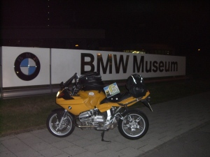 BMW Museum, München 3:17 h. A sort of homecoming.