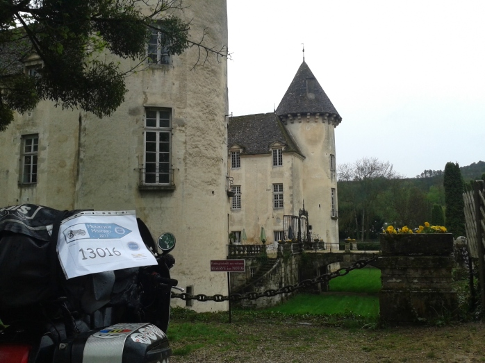 Savigny-les-Beaune's motorcycle museum - another Grim Trail location