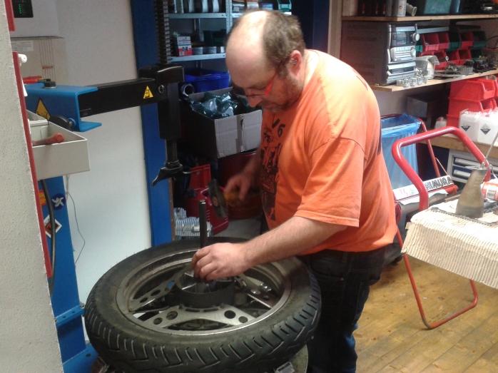 Wheel bearing change by Mart!n