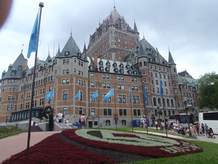Chateau Frontenac (actually it's a hotel)
