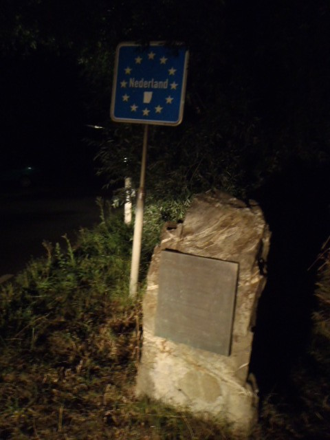 Westernmost corner, Dutch border, 4 a.m. last point