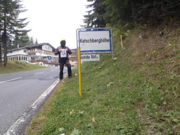 12:17 h. Katschbergsattel. First bonus point location.