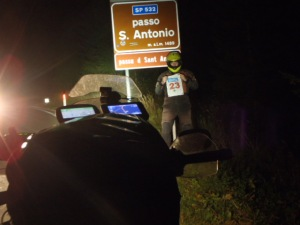22:11h. Passo di San Antonio. Time to send the text message for the extra bonus....