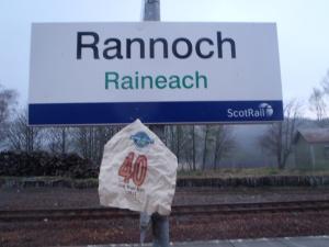 4:42 a.m. Rannoch railway station.