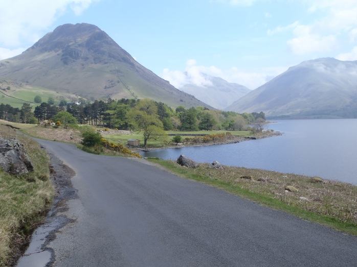 11:37 a.m. A quick stop for a scenic picture. Lake District National Park.