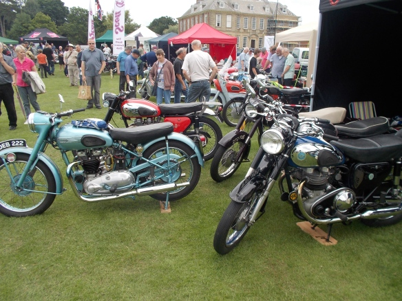 Stanford Hall Bike Show.