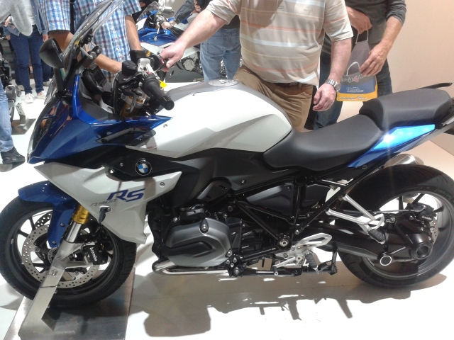 The new BMW R1200RS.