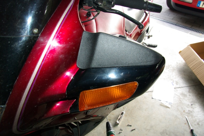The original Hondamirror deflector