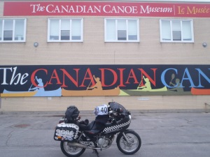 Canadian Canoe Museum. There's a museum for everything.