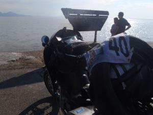 Bonneville salt speedway