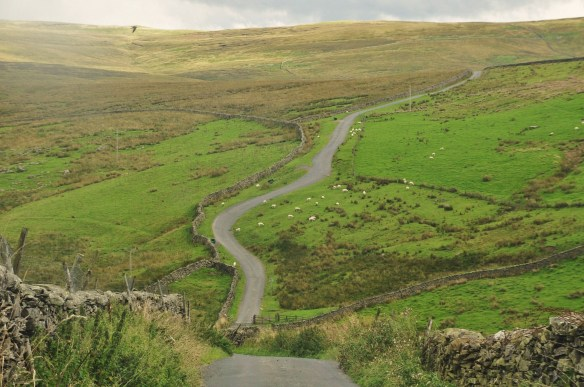 Yorkshire Dales - how to keep a 57 mph (91 km/h) average here???