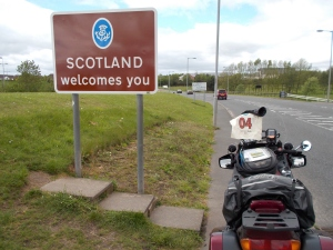 13:46 h. Scottish - English border. Monster combo bagged!