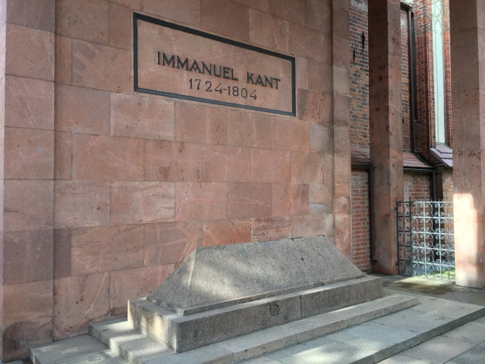 Immanuel Kant's tomb.